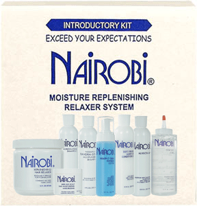 Nairobi Introductory Kit Moisture Replenishing Relaxer System Ensley Beauty Supply