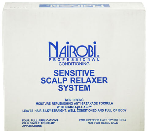 Nairobi Sensitive Scalp Relaxer System