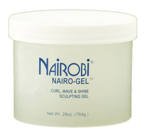Nairobi Nairo-Gel Curl Wave and Shine Sculpting Gel 28oz