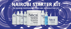 Nairobi Introductory Kit Moisture Replenishing Relaxer System