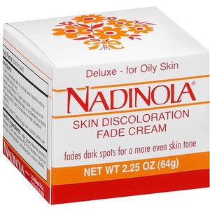 Nadinola Skin Discoloration Fade Cream--Oily Skin 2.25oz