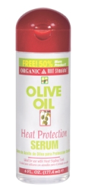Organic Root Stimulator Olive Oil Heat Protection Serum 6oz