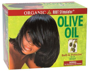 Organic Root Stimulator Olive Oil Relaxer Kit