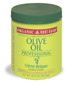 Organic Root Stimulator Olive Oil Creme Relaxer 18.75oz