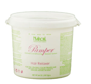 Nairobi Pamper Hair Relaxer 64oz