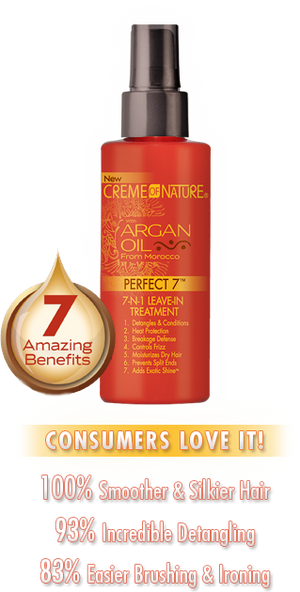 Creme of Nature Argan Oil Perfect 7 Treatment 4.23oz