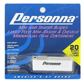 Personna Mini Hair Shaper Blades 20 Count