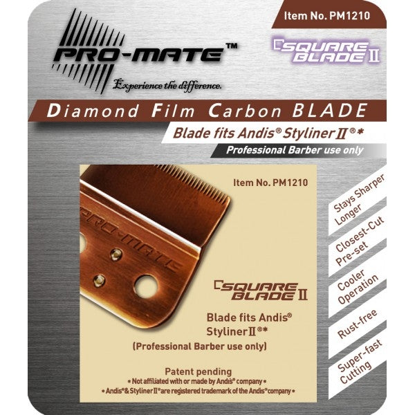 Pro-Mate Square Blade II for Styliner II PM1210
