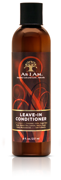 As I Am Leave-In Conditioner 8oz
