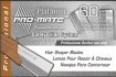 Pro-mate Platinum Hair Shaper Blades 60 Ct