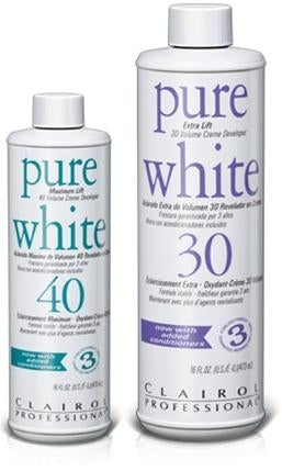 Clairol Pure White Creme Developers