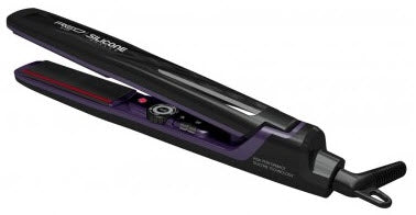 Red Silicone Styler Straightening Iron 1""