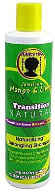 Jamaican Mango & Lime Transition Natural Detangling Shampoo 10oz