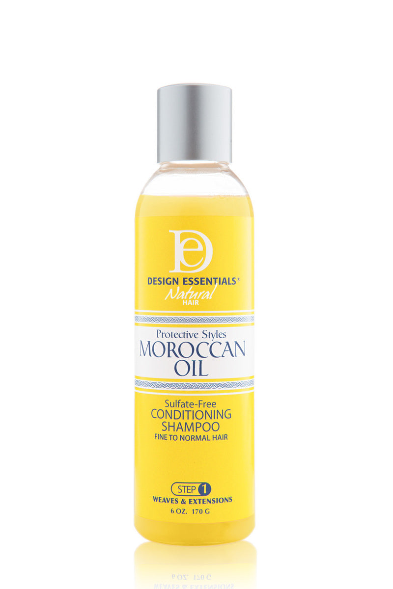 Design Essentials Moroccan Oil Sulfate-Free Conditioning Shampoo (Step 1) 6oz