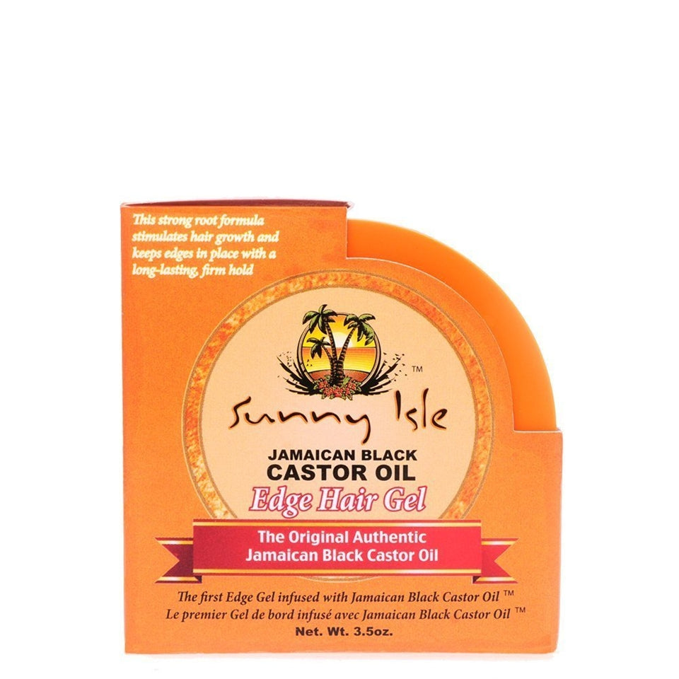 Sunny Isle Jamican Black Castor Oil Edge Hair Gel 3.5oz