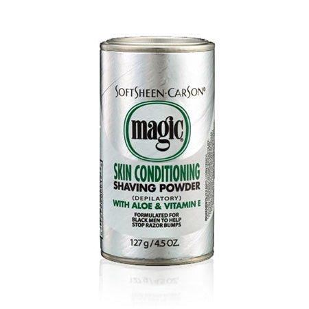 Magic Shave Skin Conditioning Shaving Powder Platinum 4.5oz