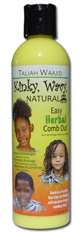 Taliah Waajid Kinky Wavy Natural Easy Herbal Comb Out 8oz