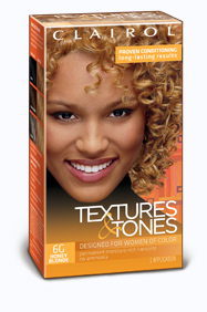 Clairol Textures & Tones Permanent Hair Color