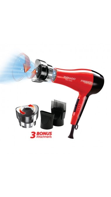 RED Tornado Pro 2000 Hair Dryer