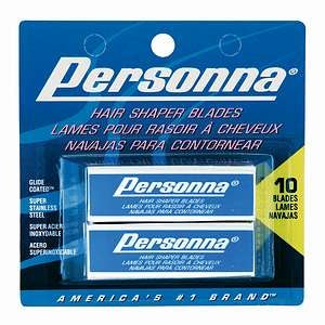 Personna Hair Shaper Blades Double Pack 10 Count