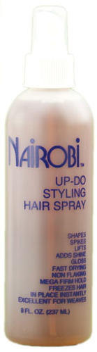 Nairobi Up-Do Styling Hair Spray
