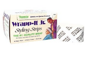 Graham Wrapp-It Styling Strips Carton WHITE