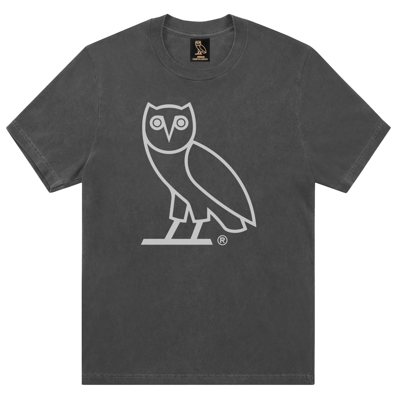 f1dea0556f31 Drake s October s Very Own OVO Owl Pigment Dye HoT-Shirt Size Medium - Sold  Out