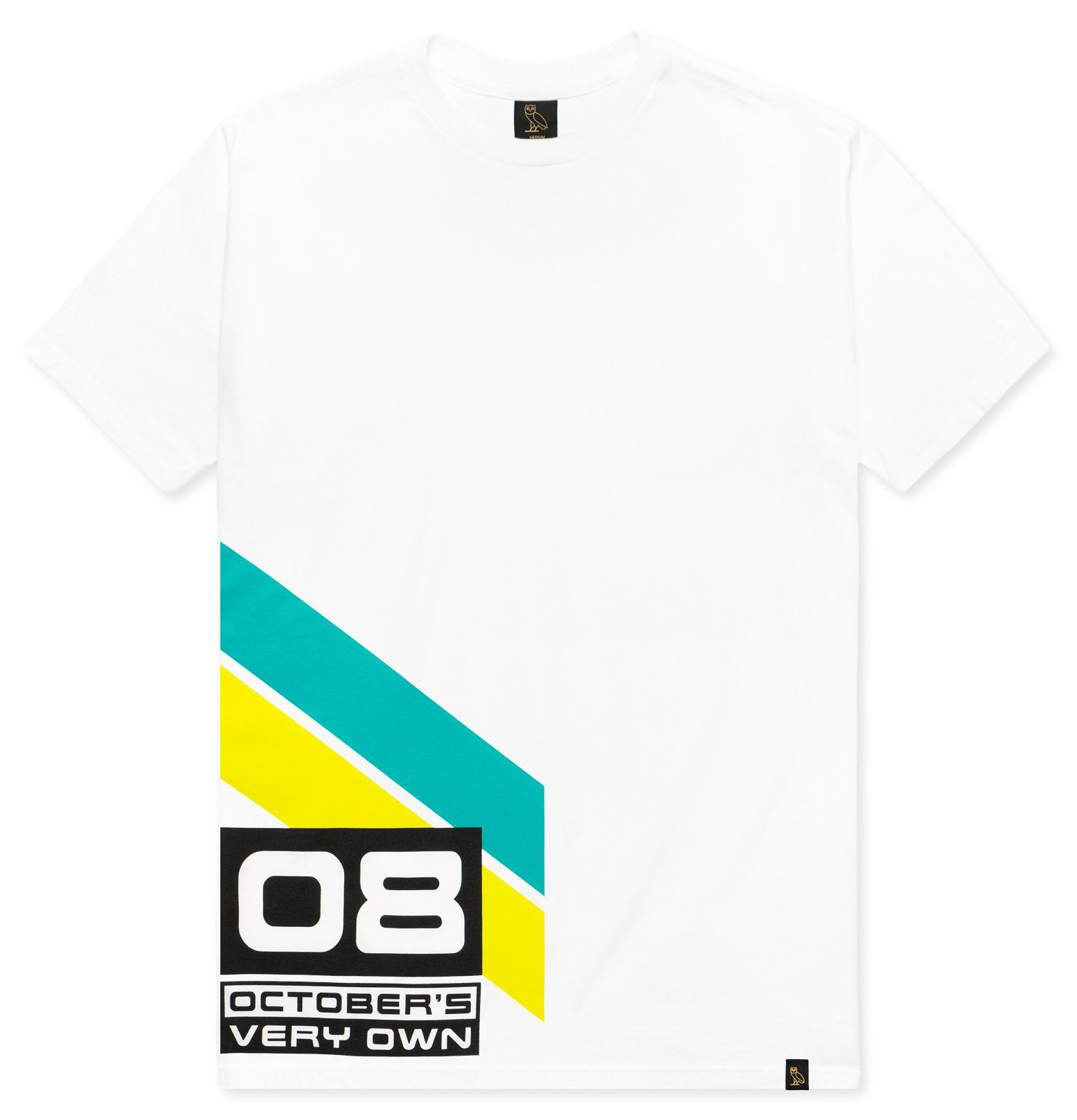 b597cdeb79b2 Drake s October s Very Own OVO Team 08 White T-Shirt Size Medium - Brand  New   Sold Out