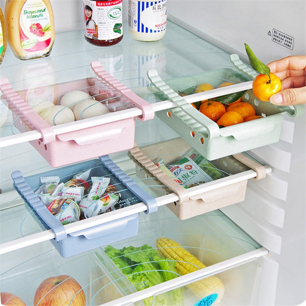 S Refrigerator Storage Box Kitchen Accessories Space Saving Cans Finishing  ...