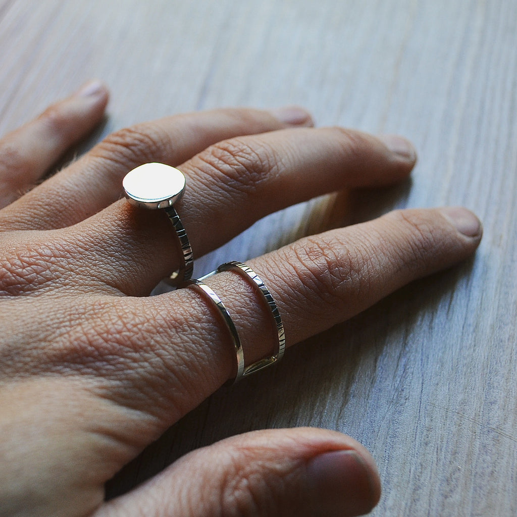 Silver Obsession Ring
