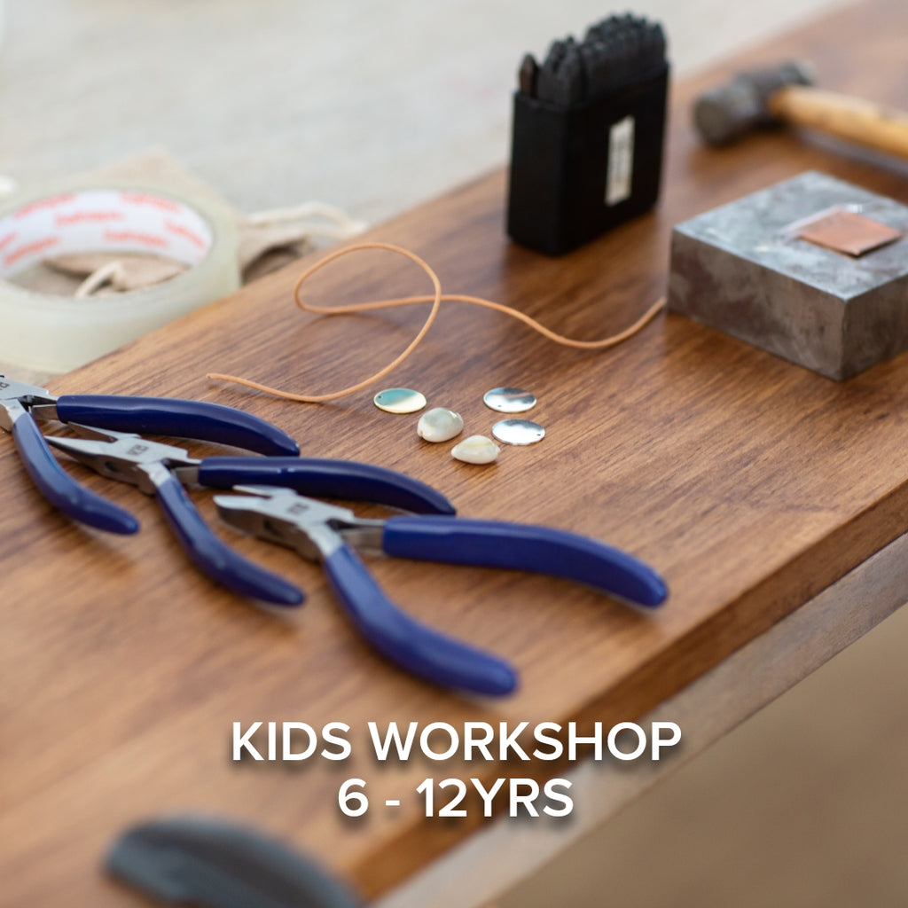 Kids Holiday Workshop 6 - 12yrs - Stamped Necklace