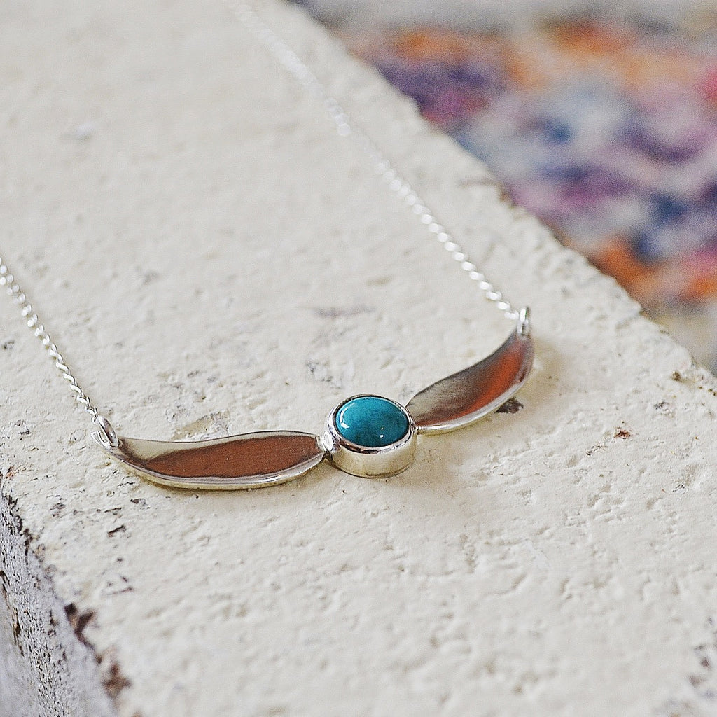 Silver + Turquoise Inanna