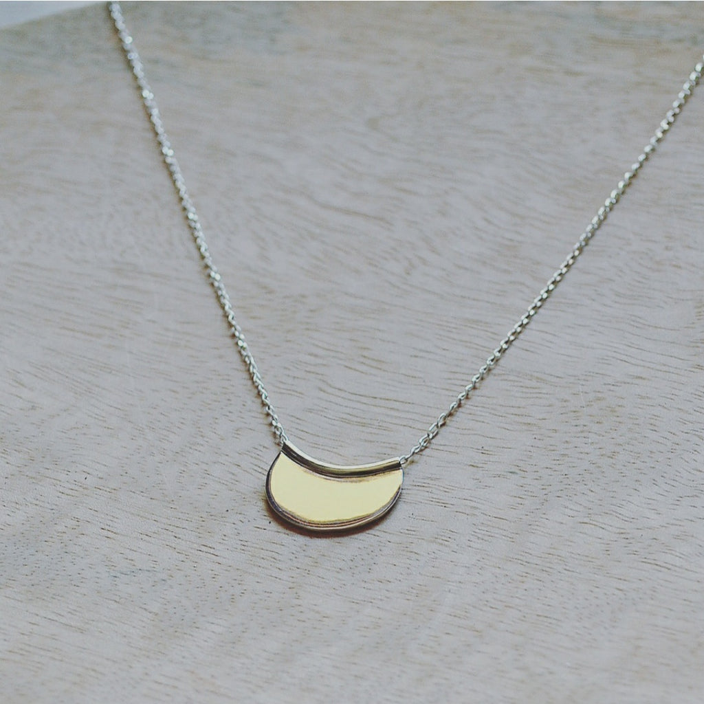 Silver Aisha Necklace