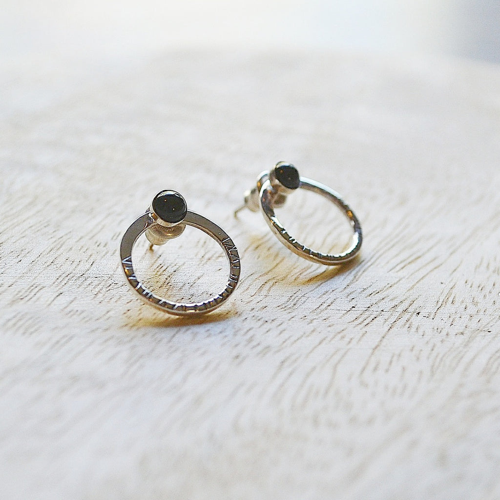 Black Soho Earrings