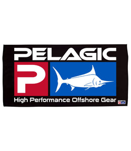 "PELAGIC ""DELUXE LOGO BEACH TOWEL"""