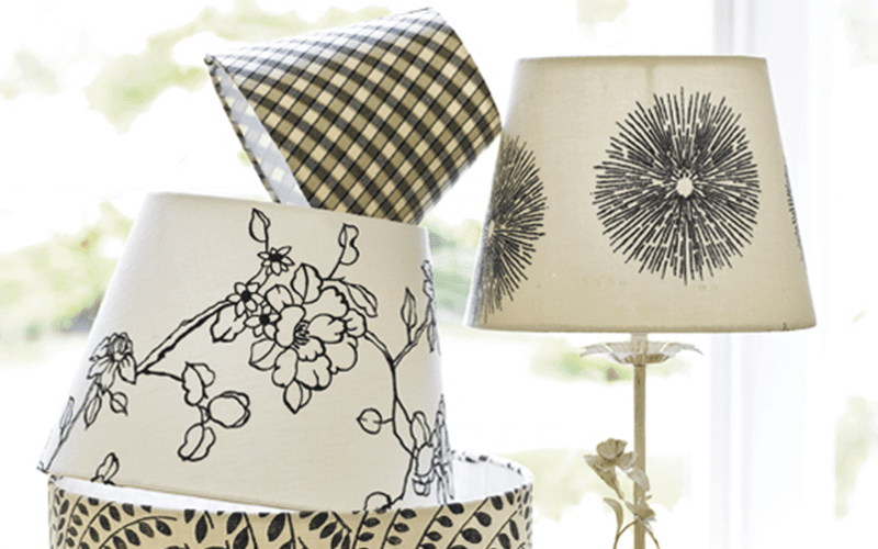 PeachSkin Site Share: Make A Bed Sheet Lamp Shade