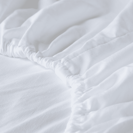 image of Almond Fitted Sheet