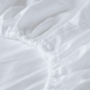 Almond (Ivory) Fitted Sheet