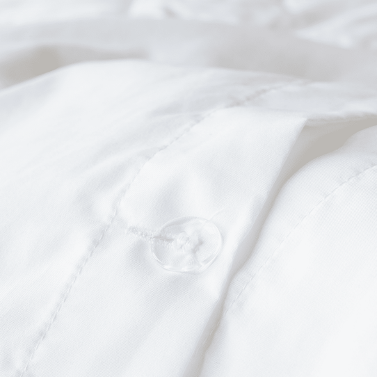 image of Brushed Silver Duvet Cover Set