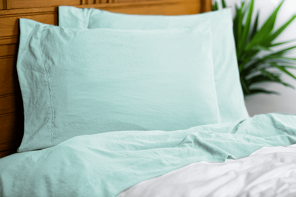 Load image into Gallery viewer, Vintage Seafoam Sheet Set