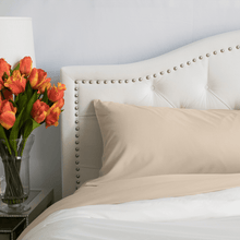 Load image into Gallery viewer, Almond (Ivory) Pillowcase Set