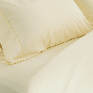 Butter Cream Fitted Sheet