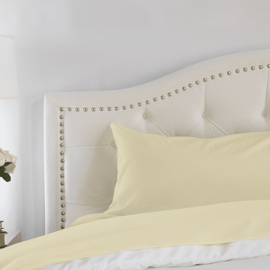 image of Butter Cream Pillowcase Set