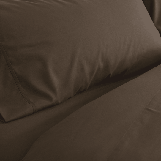 image of Chocolate Fitted Sheet