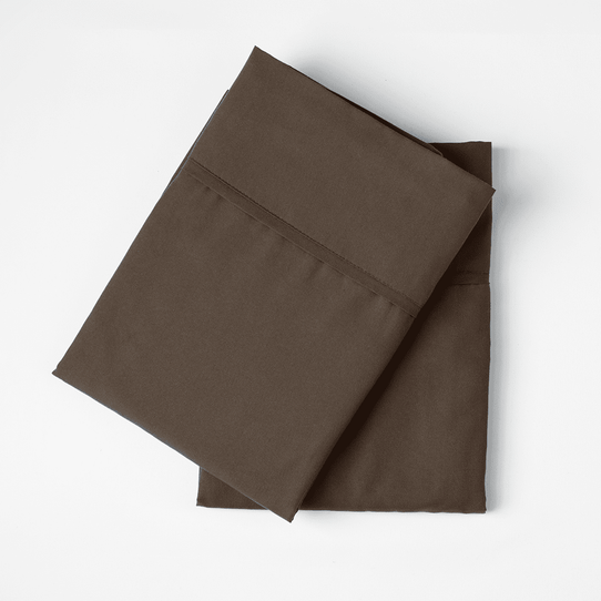image of Chocolate Pillowcase Set