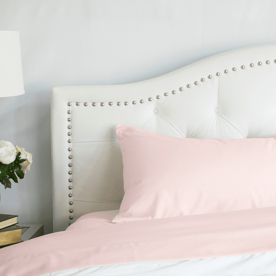 image of Cotton Candy Pink Flat Sheet