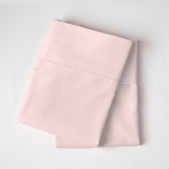 image of Cotton Candy Pink Pillowcase Set