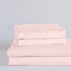 Cotton Candy Pink Sheet Set
