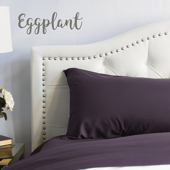 image of Eggplant Sheet Set