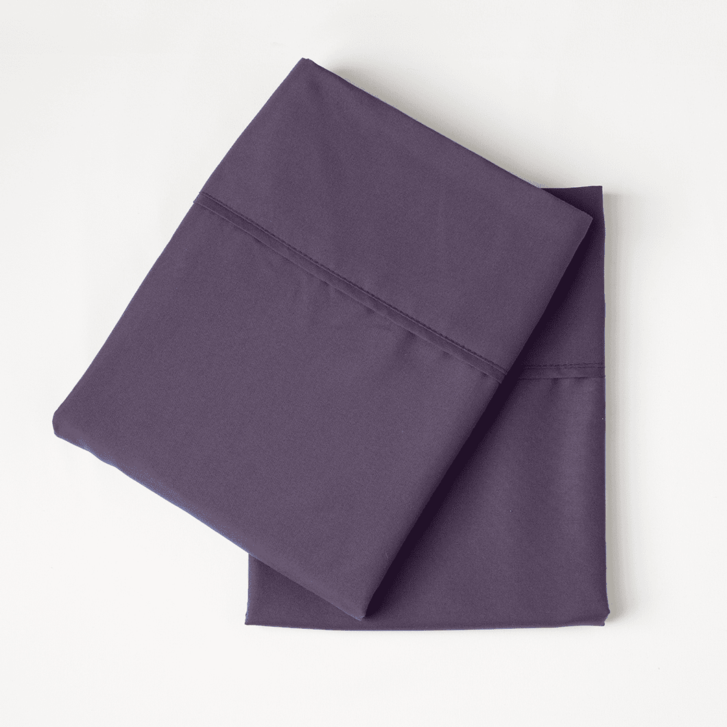 Eggplant Pillowcase Set
